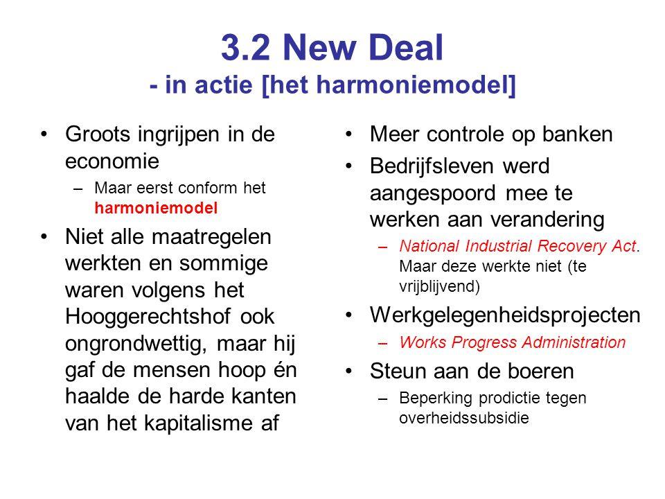 3.2 New Deal - in actie [het harmoniemodel]